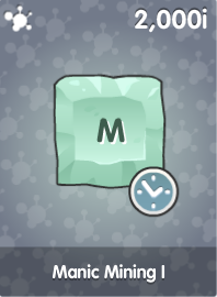 Manic Mining I