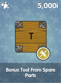 Bonus Tool From Spare Parts