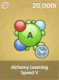 Alchemy Learning Speed V
