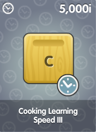 Cooking Learning Speed III