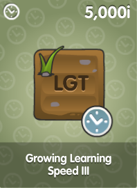 Growing Learning Speed III