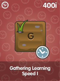 Gathering Learning Speed I