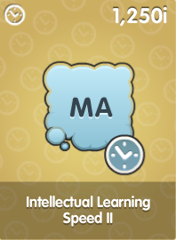 Intellectual Learning Speed II