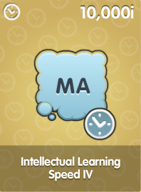 Intellectual Learning Speed IV